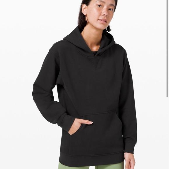 Lululemon all yours hoodie *terry, black